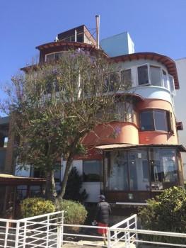 La Sebastiana, Pablo Neruda's home in Valparaíso, Chile.