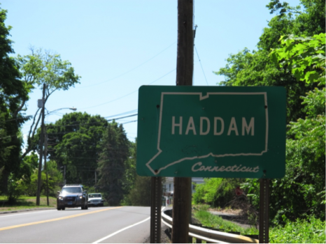 On the road to Haddam, Connecticut!