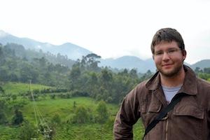 Viktor Mak '15 in Uganda