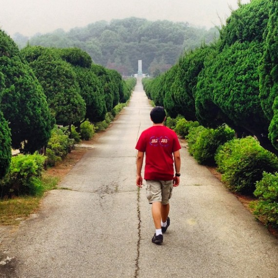 "When I asked Joe Chacra '17 what he wanted to do with our free day, he replied, ""let's get lost."" And so we did, ending our expedition at the Seoul National Cemetery."