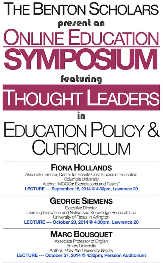 TBS - online ed symposium 2014