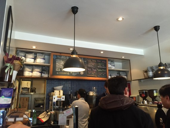 Inside Third Rail Coffee