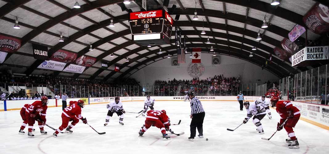 A Brief History of the Colgate-Cornell Men s Hockey Team Rivalry ... 7c4609f853f
