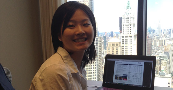 Xi Chun '16 explored the Investment Banking Sector in New York City
