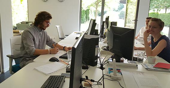 Marcell Sandor at work