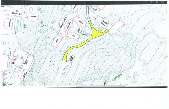 Conant House Road Closure sketch 2018