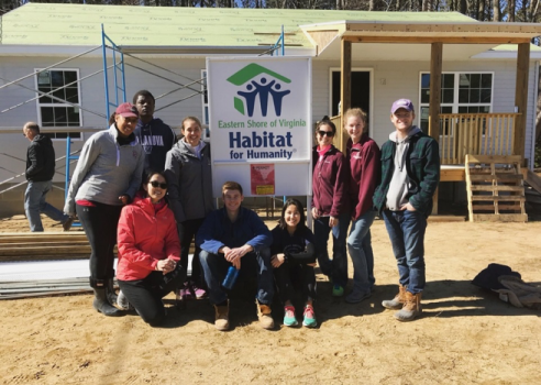Habitat for Humanity Spring Break Trip, Exmore, VA