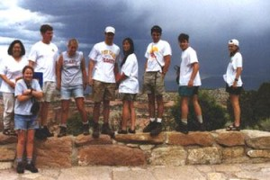 The group at the Colorado National Monument