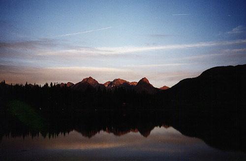 Twilight at Molas Lake, Colorado
