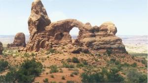 South Portal - Entrada Sandstone - Arches National Park