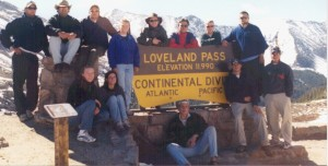 The gang at Loveland Pass