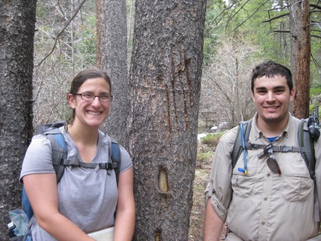 Giuliana Kafaf and Matthew Bosselait - Those aren't glacial striations in that tree!