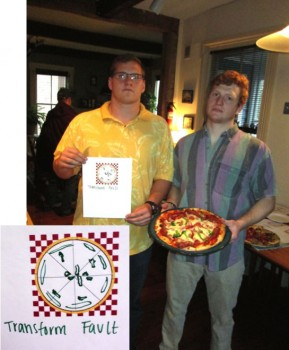 Can tough guys make a tasty Transform Fault Pizza?  Jeff Koch & Tom Bartlett prove they can.