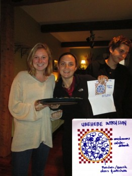 Glenna Thomas & Hannah Bercovici and thier Ubehebe Intrusion Pizza