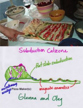 2 crust Subduction Calzone