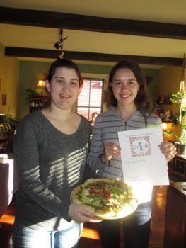 Taylor & Katie's LPO pizza