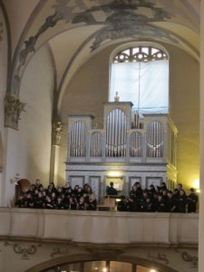 Rehearsal at the Church of the Holy Saviour