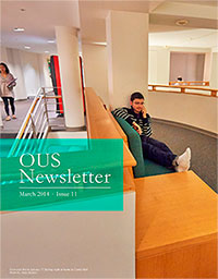 March 2014 OUS Newsletter Cover