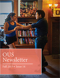 Fall 2015 Newsletter Cover