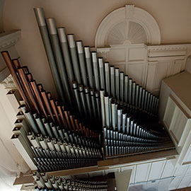 Organ in the Colgate Chapel