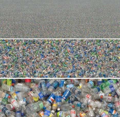 Chris Jordan Photography - Plastic Bottles