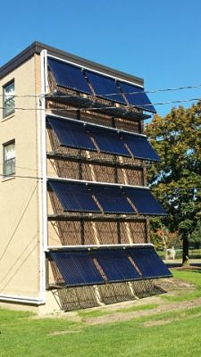 2013 Solar Thermal Installation - 100 Broad St.