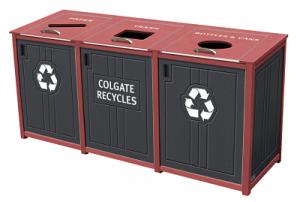 Colgate Campus Standard Recycling Bin