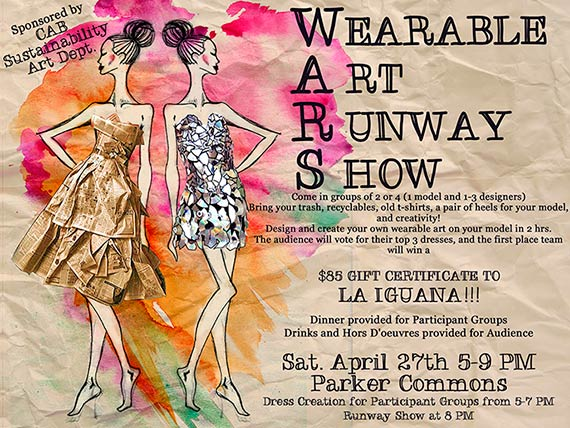Information about the Wearable Art runway show