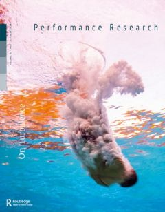 Cover of Performance Research