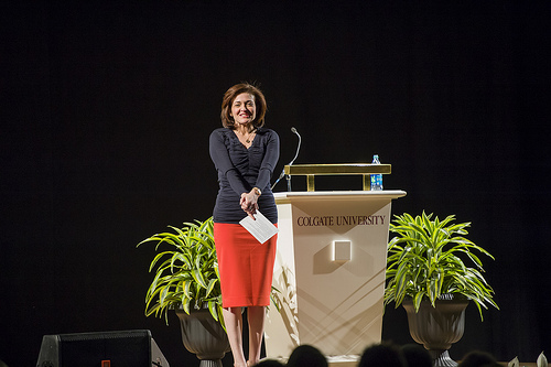 Sheryl Sandberg at Colgate university