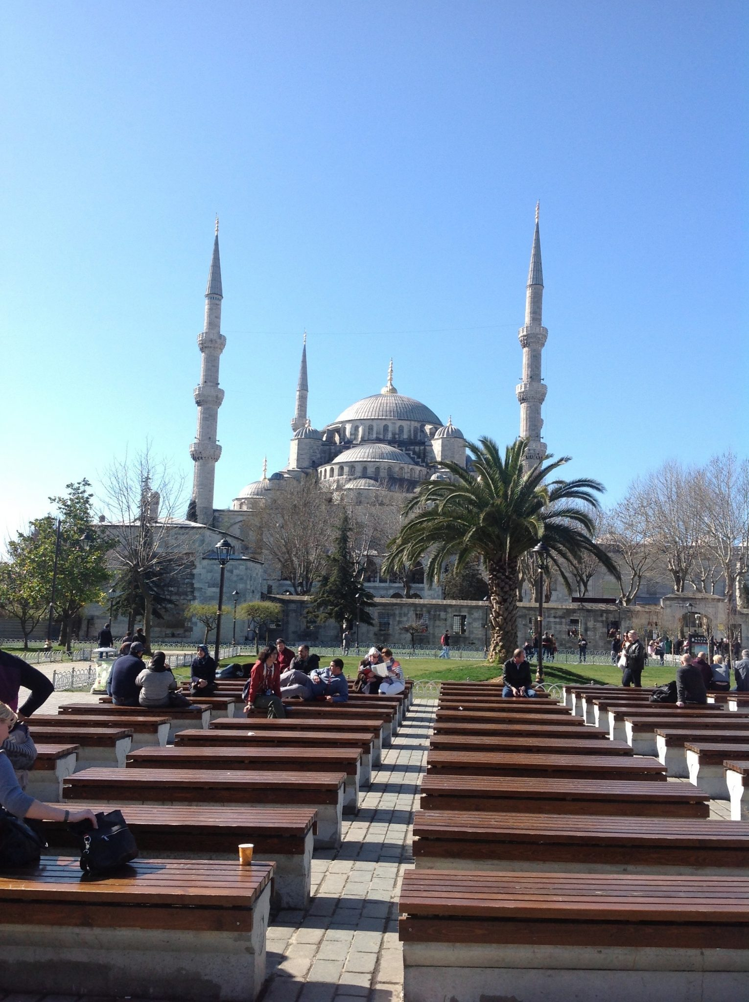 Praying at Sultanahmet – Masum Wiese | Reflections from Turkey