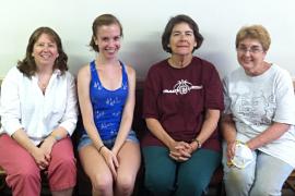 Sue Reymers, Mae Staples, Carolyn Todd, Regina Sylvestri