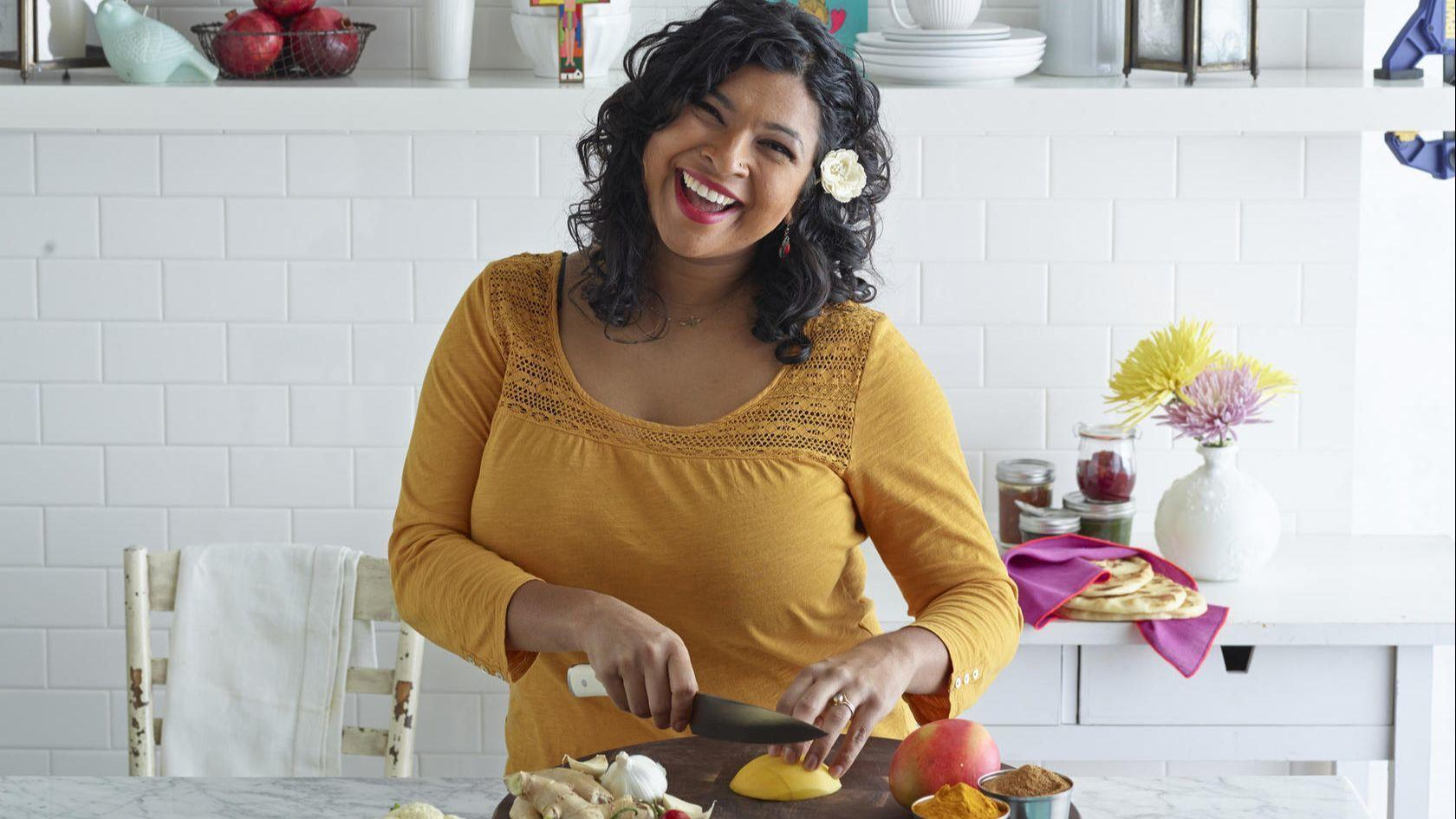 Aarti Sequeira Recipes Food Tv book signing with food network star aarti sequeira